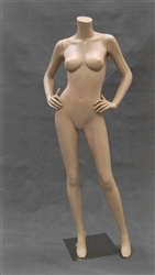Headless Female Mannequin with Hands on Hips