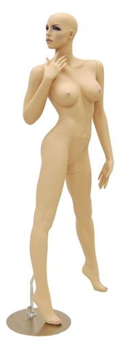 Ariana Fleshtone Mannequin Female with Hands on Chin