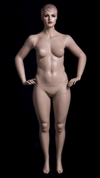 Tracy Plus Size Fleshtone Realistic Female Mannequin