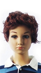 Male Child Brown mannequin wig
