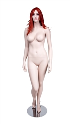 Realistic Large Bust Female Fair Skin Tone Mannequin