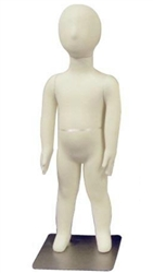 Photo: Adjustable Child Mannequin |4-Year Old Unisex Poseable Child Mannequin