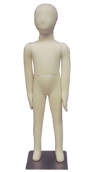 Adjustable Child Mannequin |4-Year Old Unisex Poseable Child Mannequin