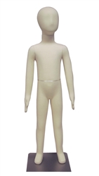 Adjustable Child Mannequin |6-Year Old Unisex Poseable Child Mannequin