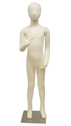 Photo: Adjustable Child Mannequin | 10-Year Old Unisex Poseable Child Mannequin