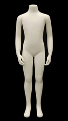 "45.5"" Tall Headless Child Mannequin 8-9 Year Old"
