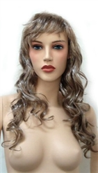Long Curly Blonde Mannequins wig
