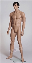 Male Mannequin with Realistic Facial Features