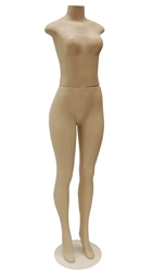 Unbreakable Headless Female Mannequin from www.zingdisplay.com