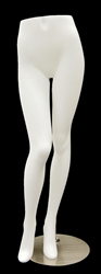 Female Standing Pant Display Form White