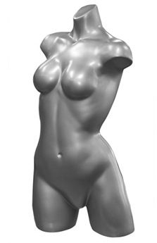 Photo: Female Display Form | Noemi Upper Torso Mannequin Form