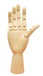 Wooden Display Hand
