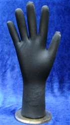 Flexible Fully Posable Black Right Hand Display from www.zingdisplay.com