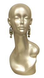 Female Display Head in Silver