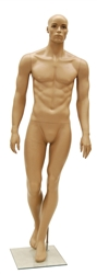 African American Ethnic Muscular Male Mannequin