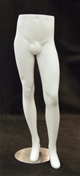Male Standing Pant Display Form White