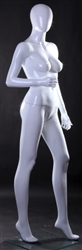 Glossy White Headless Female Mannequin from www.zingdisplay.com