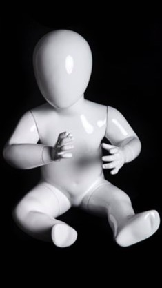 Toddler Mannequin Posed sitting on butt from www.zingdisplay.com
