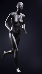 Athletic Running Female Mannequin