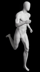 Male Mannequin in Running Pose