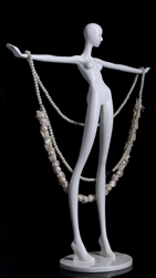 Mini Mannequin Jewelry Displays - 4 poses
