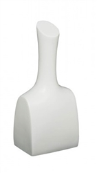 Glossy White Neck Display 16 Inches