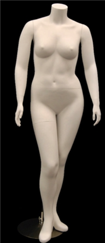 Plus Sized Female Mannequin Headless from www.zingdisplay.com