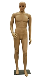 Male Plastic Realistic Mannequin, with one Arm bent