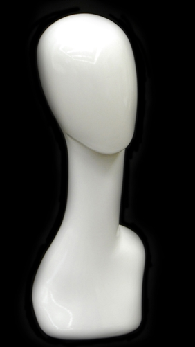 Glossy White Female Display Head