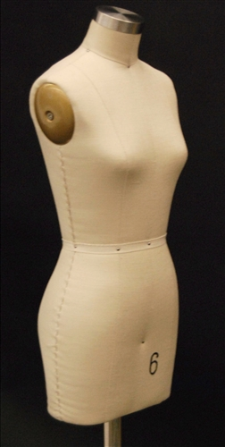 Female Headless Armless Female Dress Form