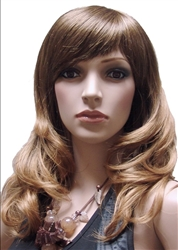 Long Wavy Blonde Mannequins wig