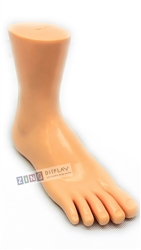 Realistic Female Right Foot Display with Toes