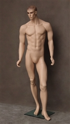 Photo: Male Mannequin Form | Tan Male Realistic Mannequin (Full)