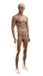 Realistic Male Mannequin In Standing Pose