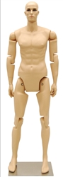 Fiberglass Posable Male Mannequin