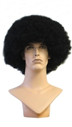 afro wig for mannequin or head display