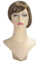 Dirty Blonde Womans Bob wig for mannequin or head display