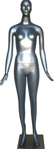 Multi Colors Abstract Head Female Mannequins