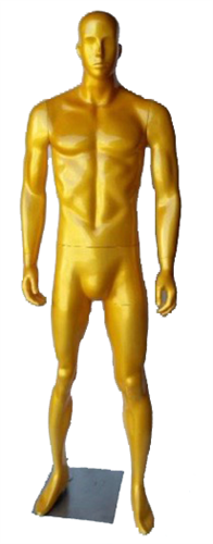 Male Mannequin in Glossy Gold from www.zingdisplay.com
