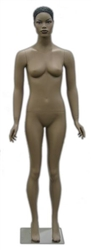 Realistic Facial Features African American Female Mannequin