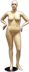 Photo: Amy Female Mannequin - Plus Size Collection Realistic Face