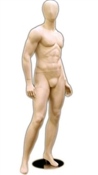 Male Mannequin in Tan Fleshtone from www.zingdisplay.com