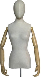 Flexible Arms and Fingers Female Dress Form
