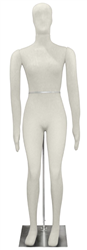 Economical Flexible Female Mannequin in Beige