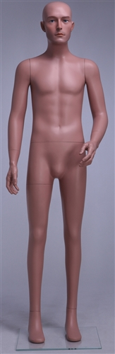 "Small Male Caucasian Mannequin 5'6"" Tall"