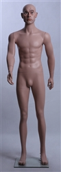 "Realistic Male Caucasian Mannequin 5'9"" Tall"