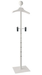 "46"" Self Standing Adjustable Clothing Hanging Display Rack From ZingDisplay.com"