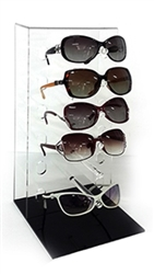 Clear 6 Pair Sunglasses Display Case