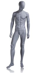Photo: Abstract Mannequin | Packer Abstract Mannequin in Slate Grey from www.zingdisplay.com