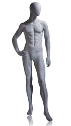 Photo: Abstract Mannequin | Palmer Abstract Mannequin in Slate Gray from www.zingdisplay.com